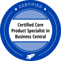 Certified core product specialist | Business Central Booster